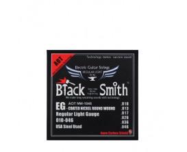 BLACK SMITH AOT NW-1046 - Jeu de cordes électrique longue durée, coating Nano Carbon, 10/46