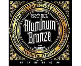ERNIE BALL 2564 - Aluminium Bronze Medium 13/56 *