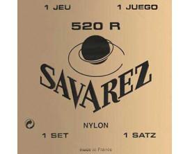 SAVAREZ 520R - Jeux de cordes classique, Carte rouge, tirant fort