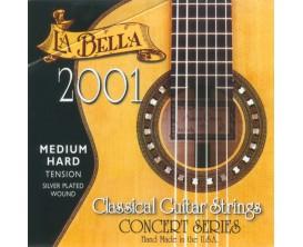LA BELLA 2001 Jeu de Cordes Guitare Classique - Medium