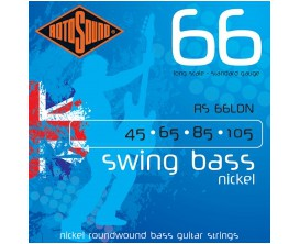 ROTOSOUND RS66LDN SWING BASS NICKEL STANDARD 45-105