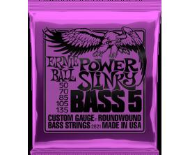 ERNIE BALL 2821 - Jeu de cordes basse 5 cordes Super Slinky Bass 5 50/135