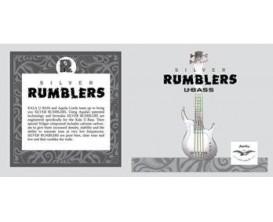KALA RMBL 4 AQ - Set de 4 cordes AQUILA pour U-Bass, gris