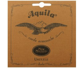 AQUILA 8U- Jeu de cordes ukulélé Concert New Nylgut, Wound Low G