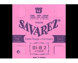 SAVAREZ - 522R Si 2ème Rouge, Nylon Rectifié