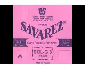 SAVAREZ - 523R Sol 3ème Rouge, Nylon Rectifié