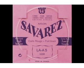 SAVAREZ - 525R La 5ème Rouge, Filé Métal Argenté