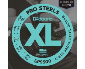 D'ADDARIO EPS500 - Jeu de 10 cordes Pedalsteel Do 6eme