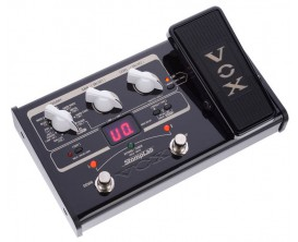 VOX Stomplab II Guitare - Multi-effets compact sur piles avec pédale d'expression