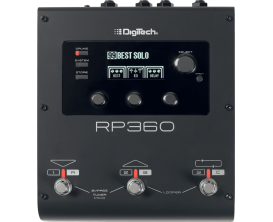 DIGITECH RP360 - Multi effets Guitare avec interface Audio USB