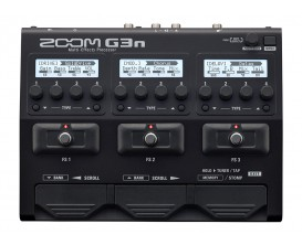 ZOOM G3n - Multi-effets Guitare avec interface audio USB