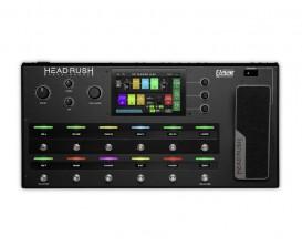 """HEADRUSH Pedalboard - Multi effets live ou studio, Moteur Eleven HD, Processeur quadricoeur, écran tactile 7"""""""