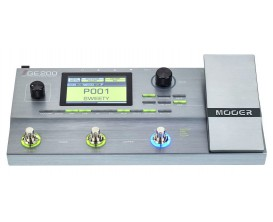 MOOER - GE 200 -Pédalier Multi-effets guitare