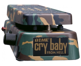 DUNLOP DB01 - Pédale wah wah Cry Baby DIME, Signature Dimebag Darrell