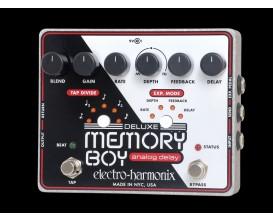 ELECTRO-HARMONIX Deluxe Memory Boy - Tap Temp Analog Delay - Série XO (Alim 9.6DC-200 fournie)