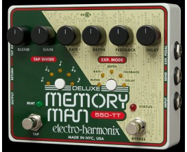 ELECTRO-HARMONIX Deluxe Memory Man w/Tap Temp 550ms - Série XO