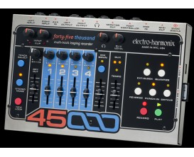 ELECTRO-HARMONIX 45000 - Stereo Multi-Track Looper - Série XO (Alim 9.6DC-200 fournie)