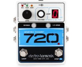 ELECTRO-HARMONIX 720 Stereo Looper - Looper 24 bits 44.1 khz 12mns / 10 mémoires