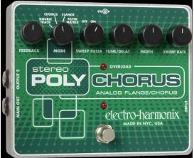 ELECTRO-HARMONIX Stereo Polychorus - Analog/Chorus/Flanger/Slapback Echo - Série XO