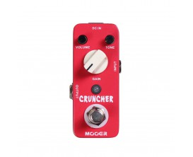MOOER Cruncher - Distortion (type MI Audio Crunch Box)